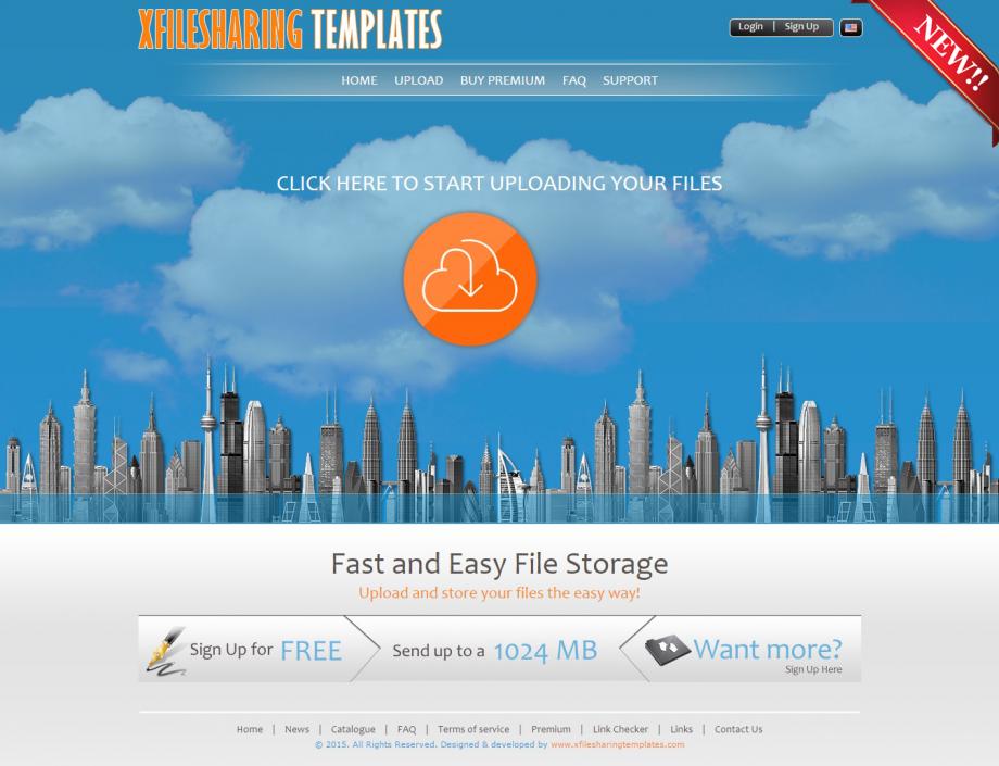 xFileSharing Cloud Template