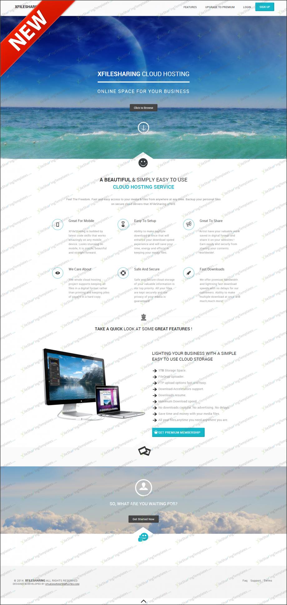 xFileSharing Theme Slide