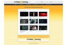 XvideoSharing  Orange Template