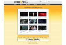 XvideoSharing  Orange Template