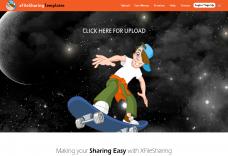 xFileSharing responsive ninja Template