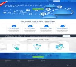 xFileSharing Responsive Cloud Template
